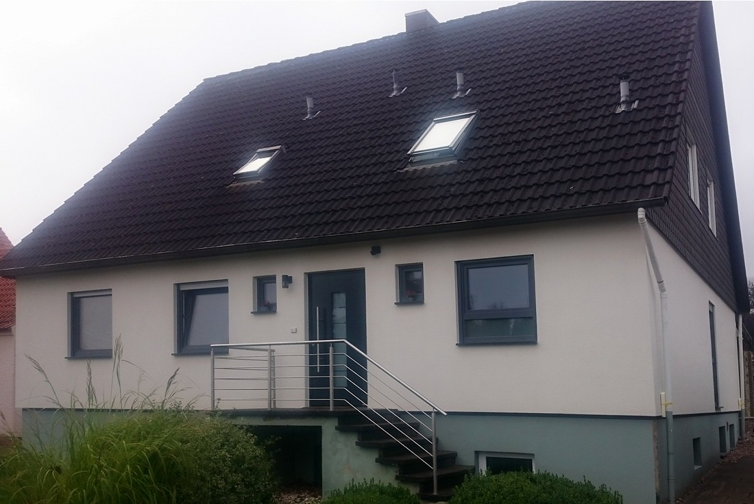 Fertighaussanierung Okal Haus In Lübbecke Fertighaussanierung