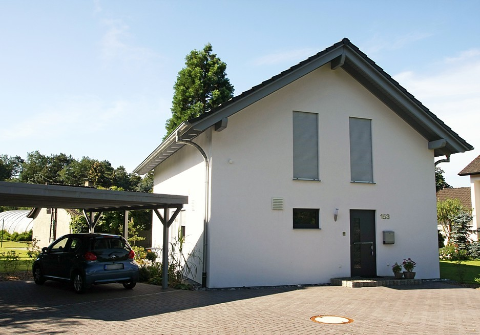Carport fertighaus sanierung fertighaussanierung for Carport rolladen