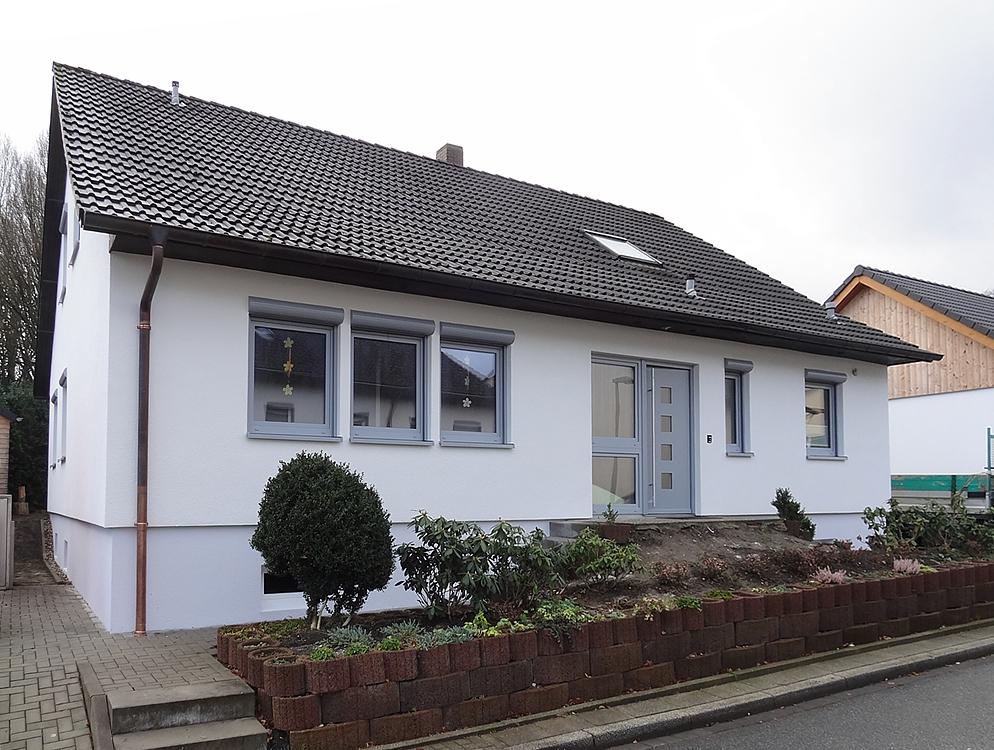 Extrem Referenzen Fassadensanierung Fertighaus - Fertighaussanierung UO26