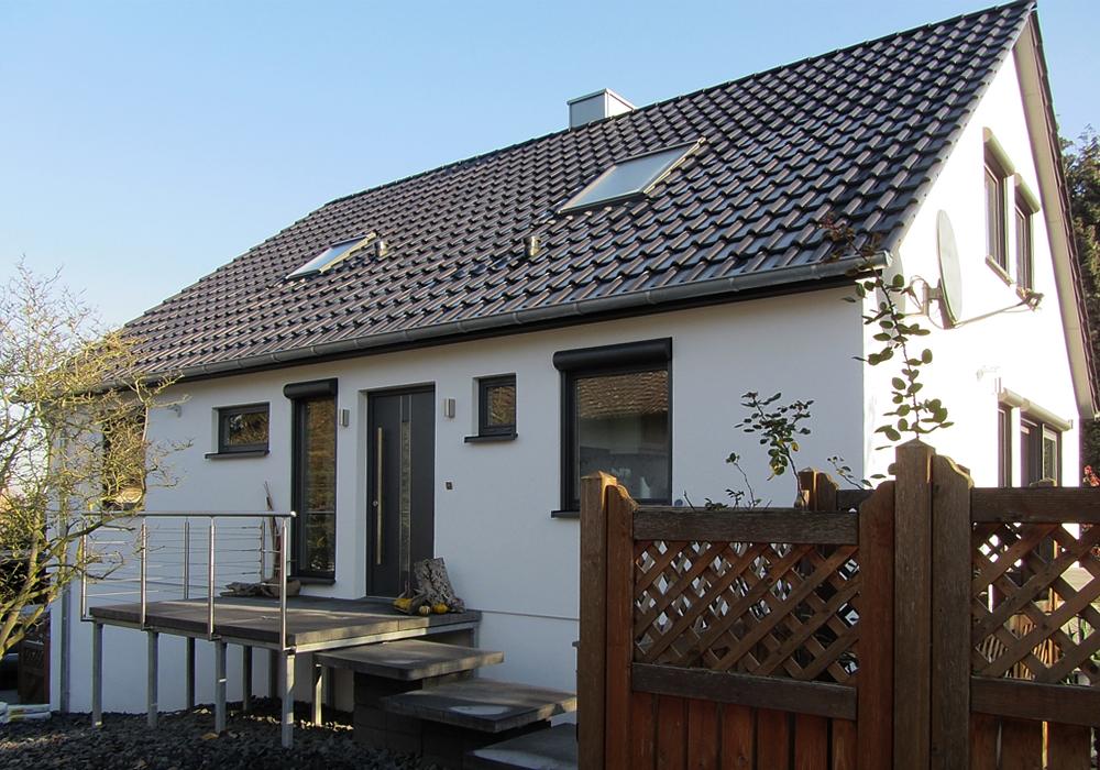 Fabulous Referenzen Fertighaussanierung Fassaden Sanierung Wärmedämmung QZ86